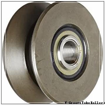 point diameter: Smith Bearing Company MVYR-76 V-Groove Yoke Rollers