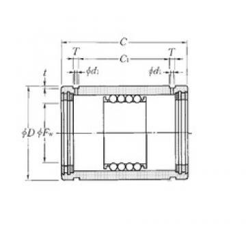 Weight NTN KD162837LL linear-bearings