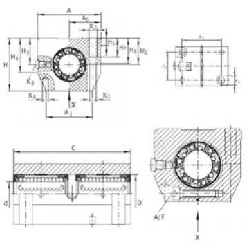 Basic dynamic load rating (C) INA KTNS 30 C-PP-AS linear-bearings