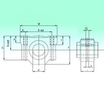 Bearing number NBS SCV 13 AS linear-bearings