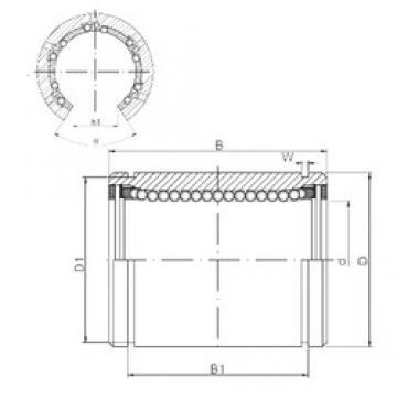 30 mm x 45 mm x 64 mm Brand Loyal LM30OP linear-bearings