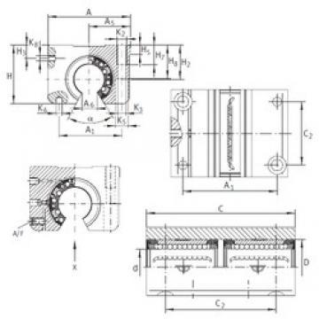 Angle (?) INA KTNOS 20 C-PP-AS linear-bearings