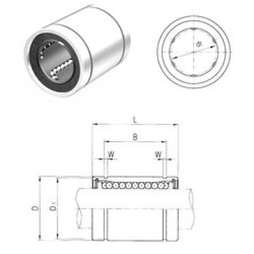 16 mm x 26 mm x 24,9 mm Bearing number Samick LME16UU linear-bearings