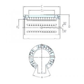 Brand SKF LBCF 30 A linear-bearings