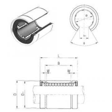 60 mm x 90 mm x 101,7 mm Basic dynamic load rating (C) Samick LME60UUOP linear-bearings