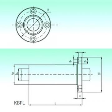 Outer Diameter (mm) NBS KBFL 40 linear-bearings