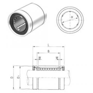 8 mm x 15 mm x 17,5 mm Width (mm) Samick LM8 linear-bearings