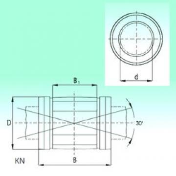 12 mm x 22 mm x 32 mm Width (mm) NBS KN1232 linear-bearings