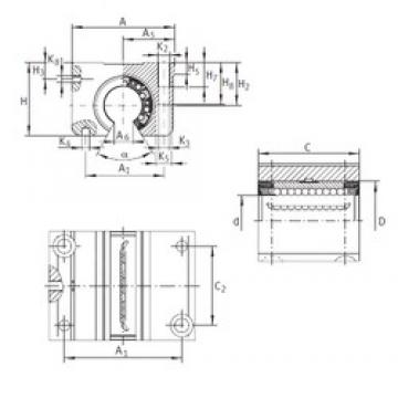 K4 INA KGNO 40 C-PP-AS linear-bearings