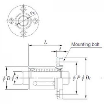 Basic dynamic load rating (C) KOYO SDMF30 linear-bearings