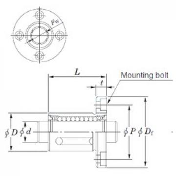Basic dynamic load rating (C) KOYO SDMF50 linear-bearings