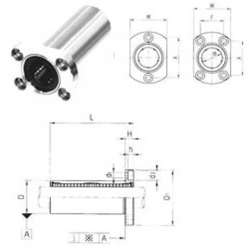 Outer Diameter (mm) Samick LMH30LUU linear-bearings