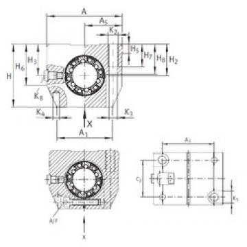 Basic dynamic load rating (C) INA KGNS 30 C-PP-AS linear-bearings