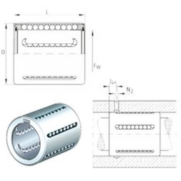 Basic dynamic load rating (C) INA KH30-PP linear-bearings