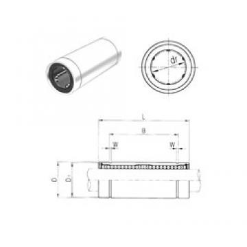 50 mm x 80 mm x 148 mm D Samick LM50L linear-bearings