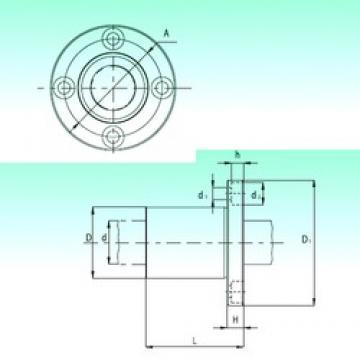 H NBS KBF50-PP linear-bearings