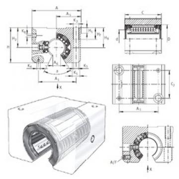 Brand INA KGSNOS12-PP-AS linear-bearings