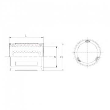 Bearing number Samick CLB14 linear-bearings