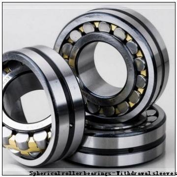 480 x 870 x 310 r(min) KOYO 23296RHAK+AHX3296 Spherical roller bearings - Withdrawal sleeves