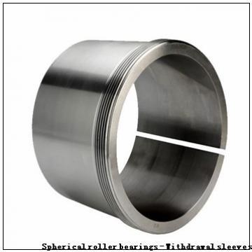 280 x 500 x 130 G1 KOYO 22256RHAK+AH2256 Spherical roller bearings - Withdrawal sleeves