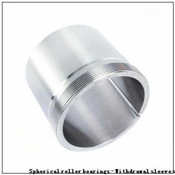 110 x 180 x 56 r(min) KOYO 23122RZK+AHX3122 Spherical roller bearings - Withdrawal sleeves