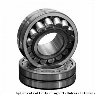 300 x 500 x 160 r(min) KOYO 23160RHAK+AH3160 Spherical roller bearings - Withdrawal sleeves