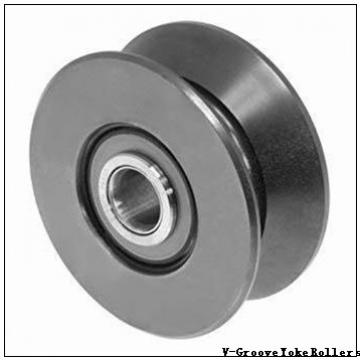 roller material: Smith Bearing Company MVYR-100 V-Groove Yoke Rollers