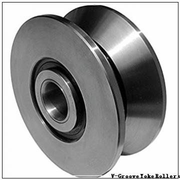 operating temperature range: Osborn Load Runners VLRY-2-1/2 V-Groove Yoke Rollers