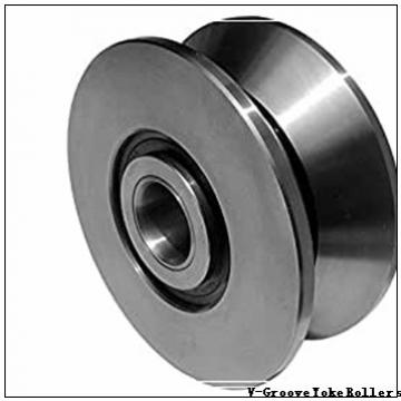operating temperature range: Osborn Load Runners VLRY 5 V-Groove Yoke Rollers